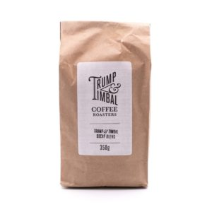 Trump & Tamp; Timble Ethically Sourced <strong>DECAF GROUND</strong> | Arabica | Refill Biodegradable Pack <strong> 350 g </strong>