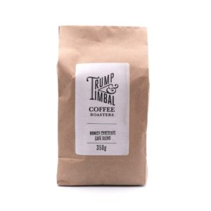Trump & Timble Ethically Sourced <strong>BEANS</strong> | Honest Coffee Blend | Robusta | Refill Biodegradable Pack <strong> 350 g </strong>