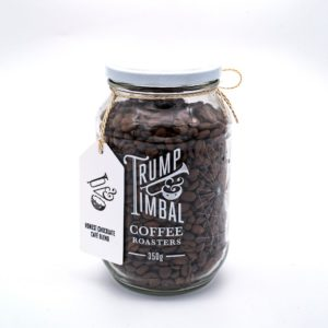 Trump & Timbal Ethically Sourced <strong>GROUND</strong> | Honest Cafe Blend | GLASS JAR <strong>350 g</strong>
