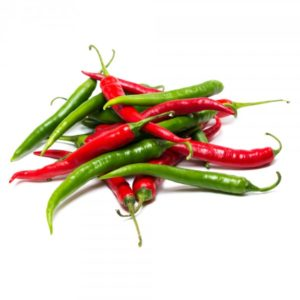 Organic Mixed Chillies <strong> 100 g</strong>