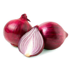 Organic Red Onion <strong> BUNCH </strong>