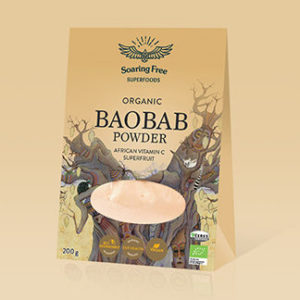 Superfood Organic Boabab Powder <strong> 200 g. </strong>