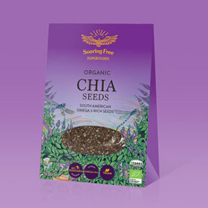 Superfood Organic Chia Seeds <strong> 200 g   </strong>