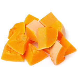 Organic Pumpkin Chopped <strong> 400 g </strong>