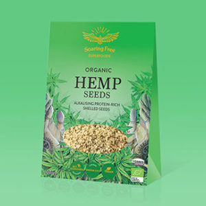 Superfood Organic Hemp Seeds <strong> 200 g   </strong>