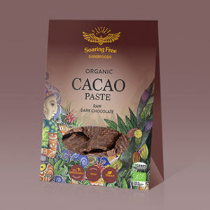 Superfood Organic Raw Cacao Paste  <strong> 200 g  </strong>