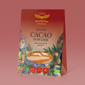 Superfood Organic Raw Cacao Powder <strong> 200 g  </strong>