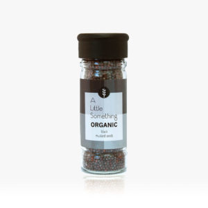 Organic Black Mustard Seeds  <strong> 70 g</strong>
