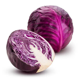 Organic Baby Red Cabbage <strong> Head</strong>