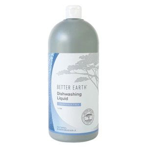 Better Earth Dishwashing Liquid Fragrance Free<strong> 1 L</strong>