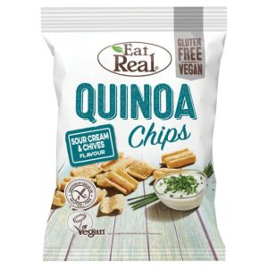 Eat Real Quinoa Sour Cream & Chives <strong> 30 g </strong>