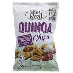 Eat Real Quinoa Sundried Tomato & Roasted Garlic <strong> 30 g </strong>